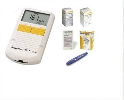 Accutrend-gct-kolesterol-şeker-trigliserid-ölçüm