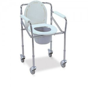 W696 Wollex Klozetli Tekerlekli Sandalye