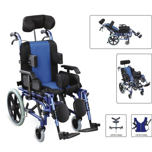 W958 Wollex  Özellikli Tekerlekli Sandalye